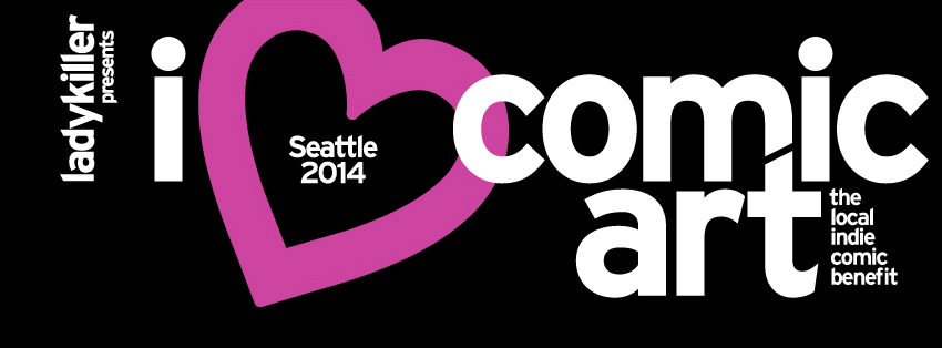 And a Facebook cover arrangement for the i <3 comic art logo.
