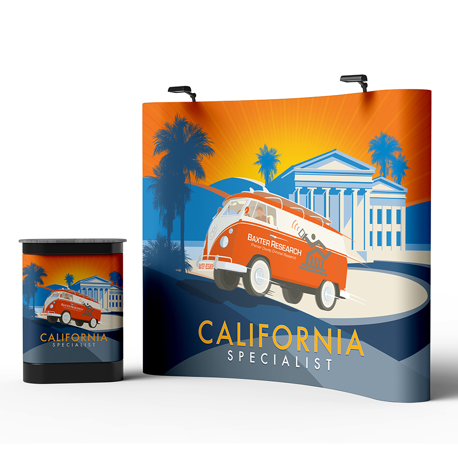 Baxter Trade Show Banner Stand Backdrop With Display Counter Mockup PSD.jpg