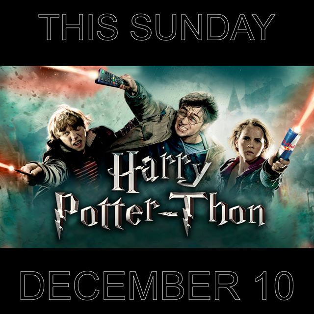 Wear your best Ravenclaw gear, and join us at noon in The Park at South for episodes 5-6-7a&7b. We'll have food, games, and a chance to decompress with your friends from Thrive before finals hit!