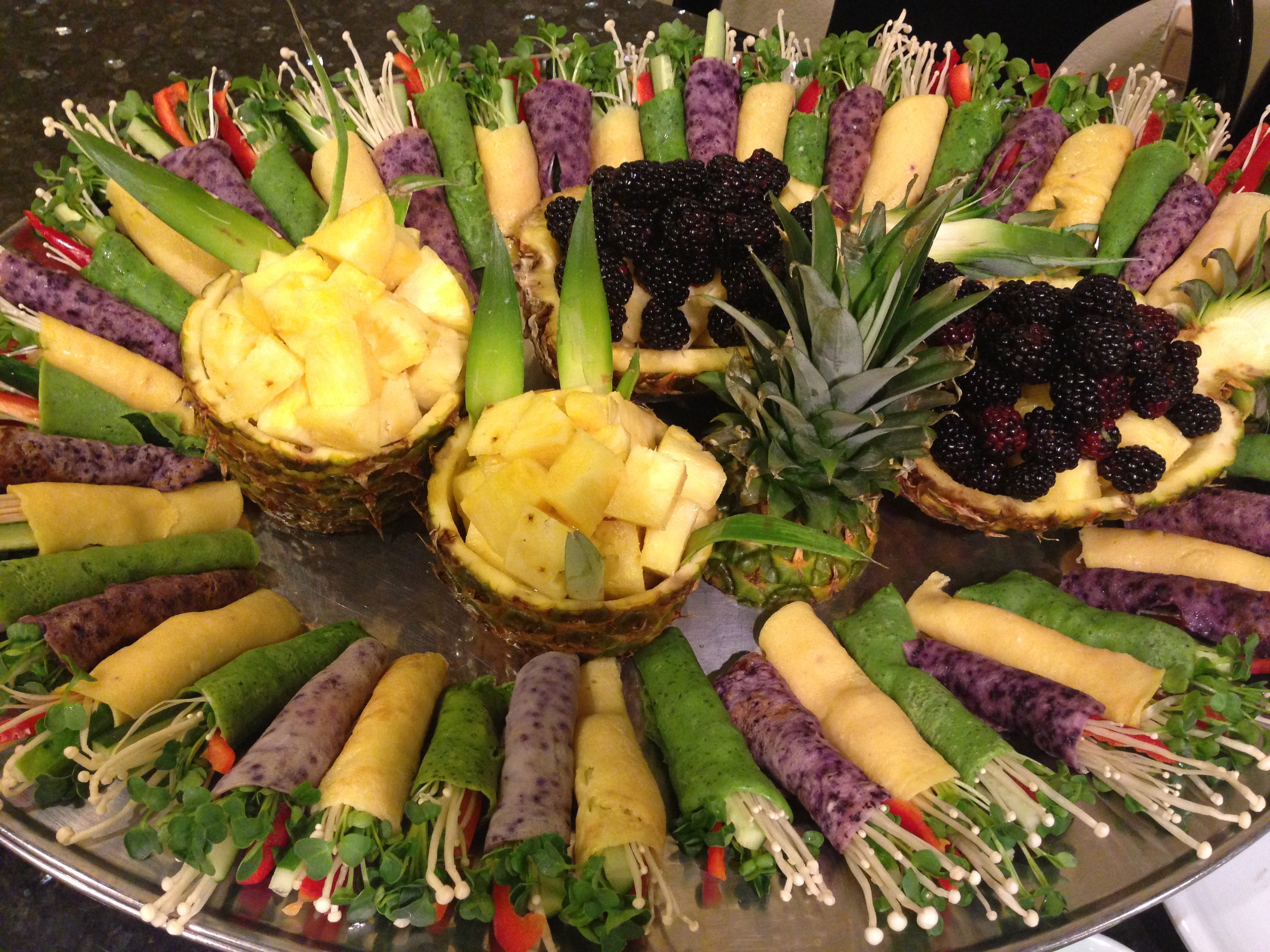 Customized banquet menu for your party