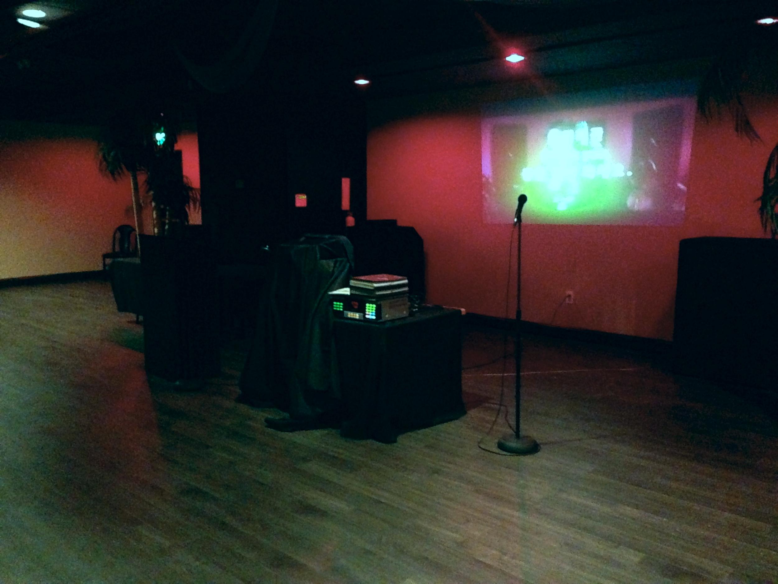 Karaoke + A/V setup