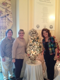 Sharla, Rosemarie and Susie dropping off our 2013 Tree of Hope!
