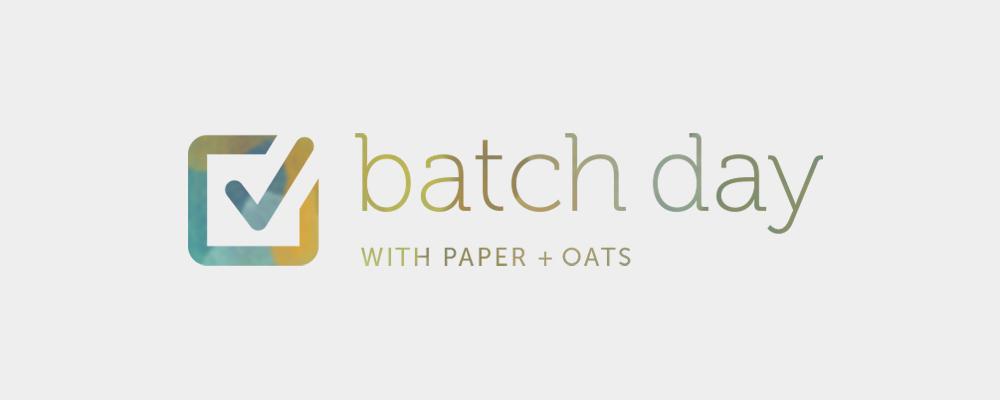 Paper + Oats – A little peek behind my business branding
