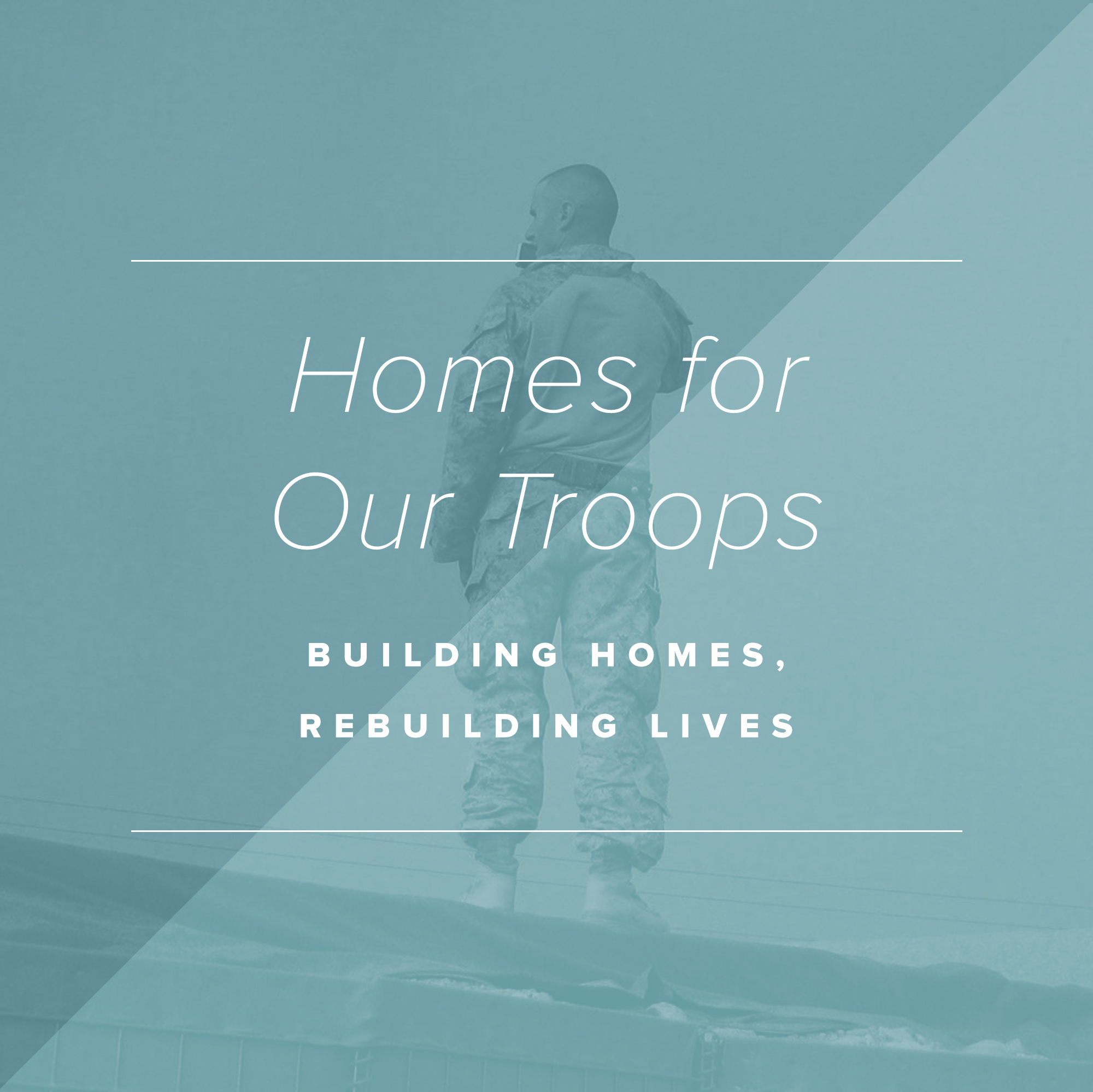 Paper + Oats Gives Back –Homes for our Troops
