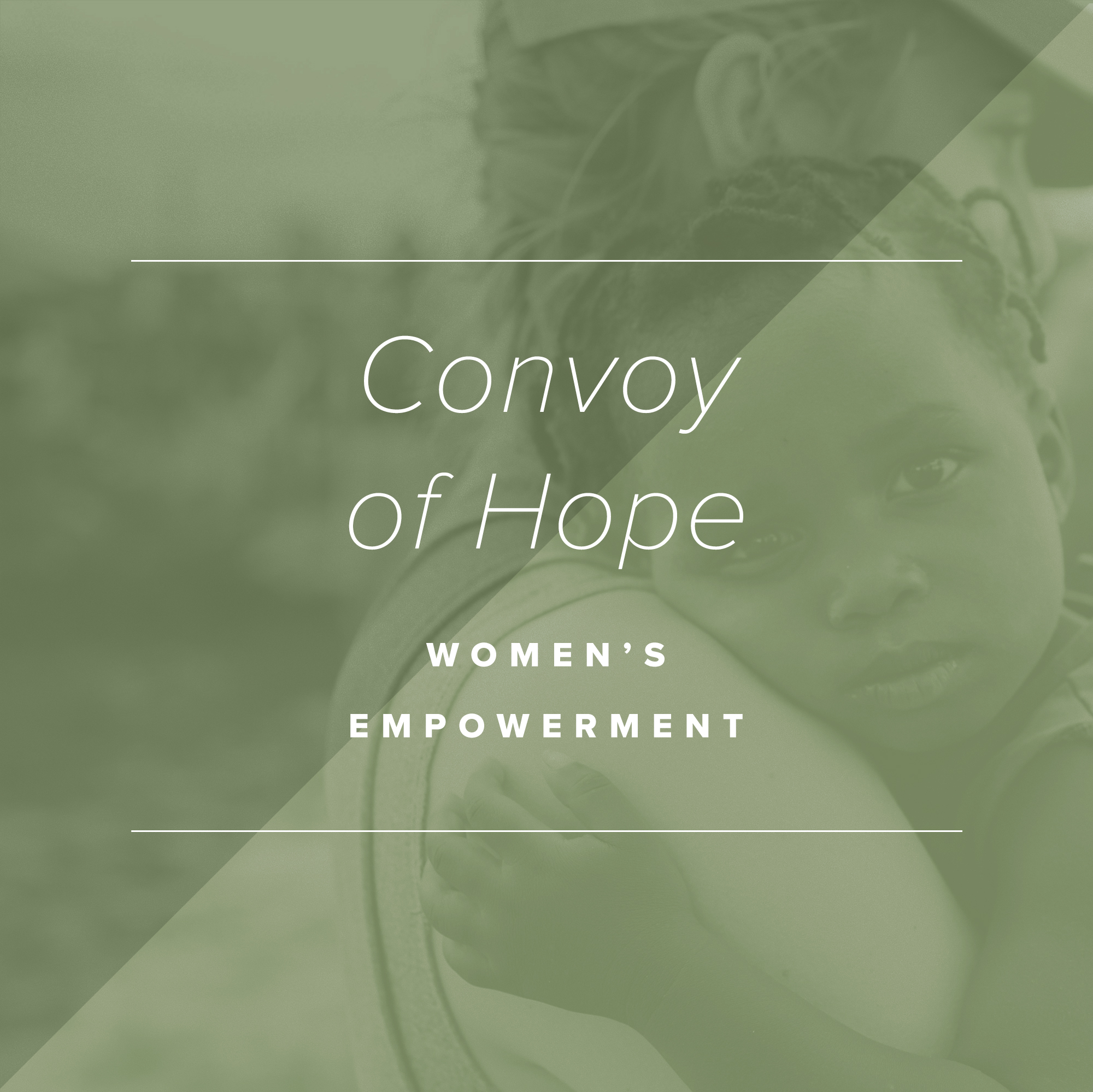 Paper + Oats Gives Back – Convoy of Hope Women's Empowerment