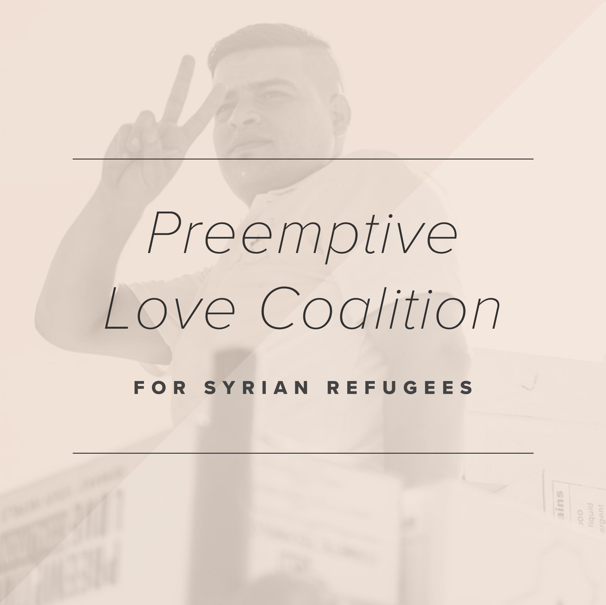 Paper + Oats Gives Back —Preemptive Love Coalition