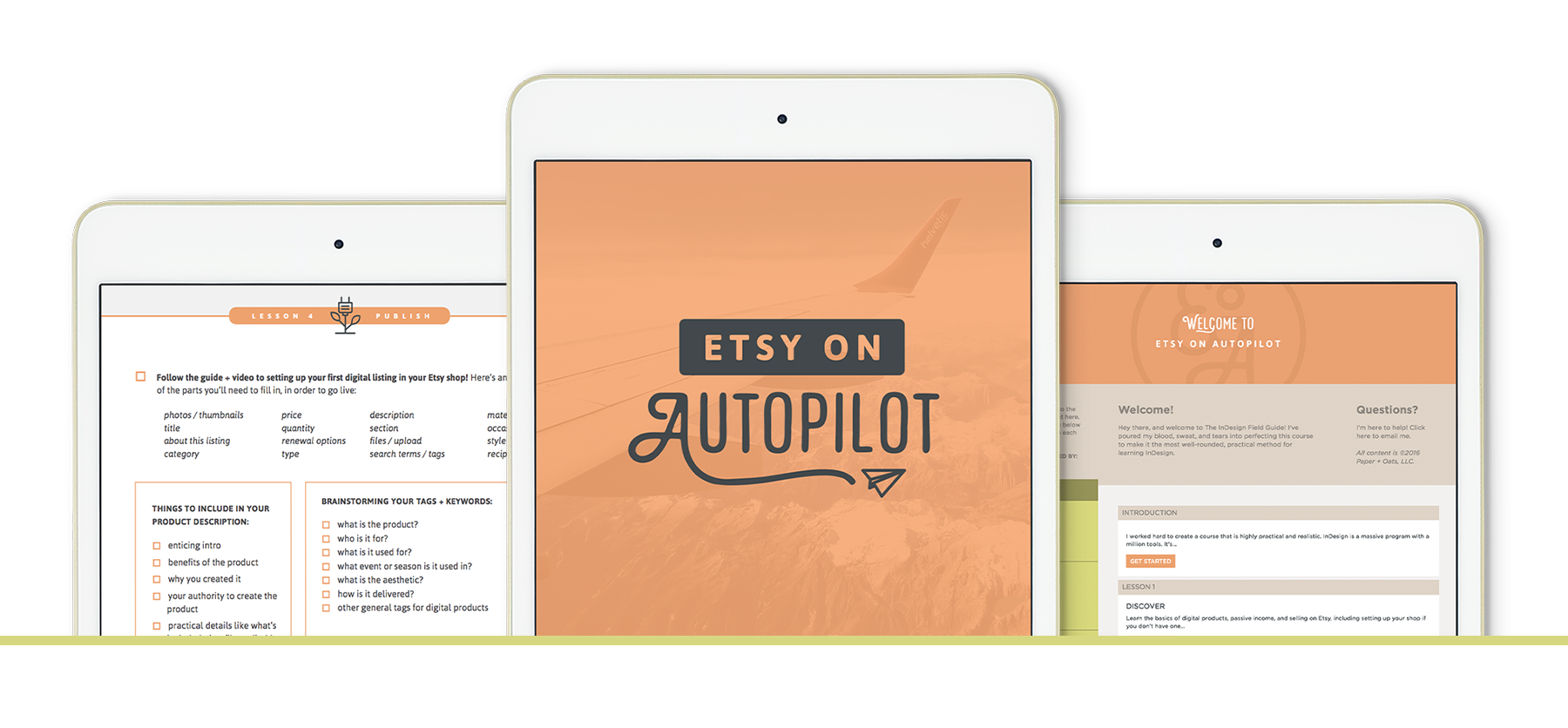Etsy on Autopilot by Paper + Oats