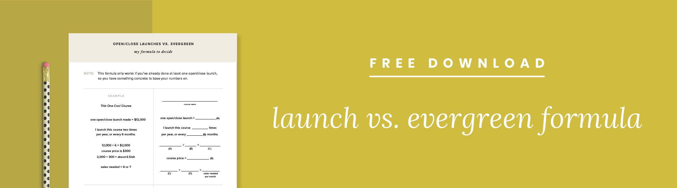 A guide to open/close launches and evergreen + my formula to decide — by Paper + Oats (www.paperandoats.com)