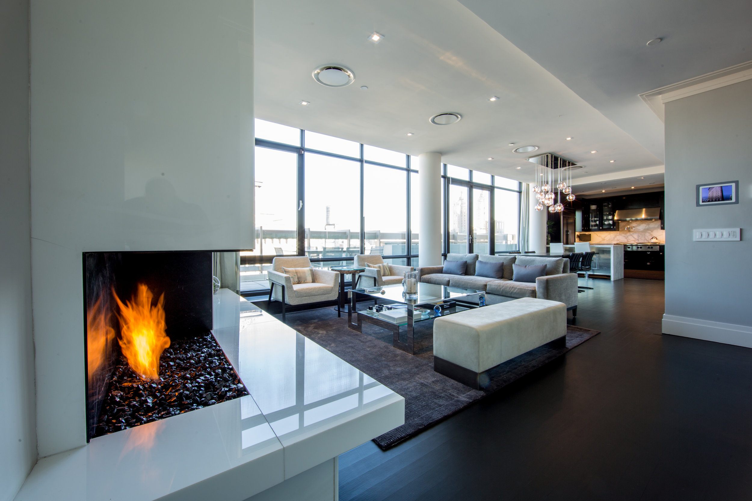 A PENTHOUSE DUPLEX ON THE UPPER WEST SIDE -
