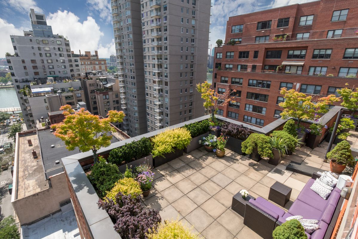 a PENTHOUSE CONDO ON THE UPPER EAST SIDE -