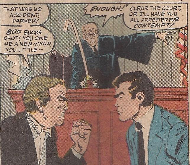 Sounds like a job for Judge Judy!