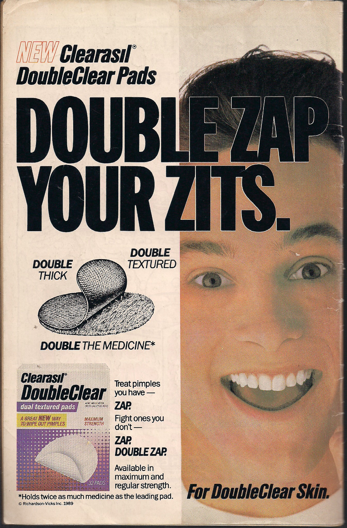 Zap your zits all you want, dude. You're still not getting a date