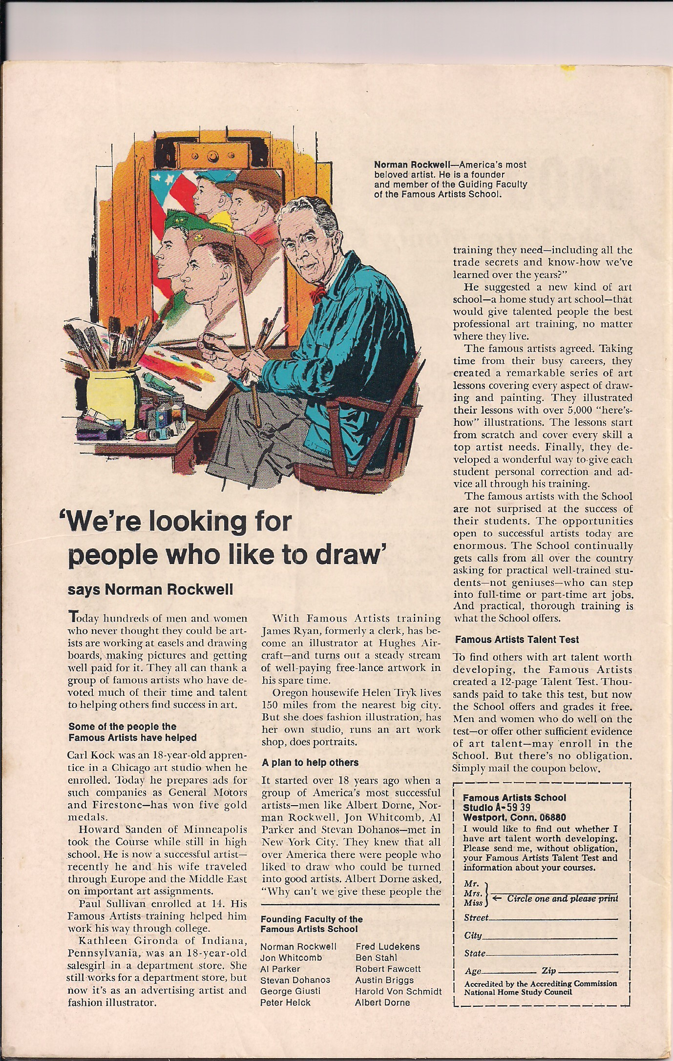 Norman Rockwell, 'Nuff Said!