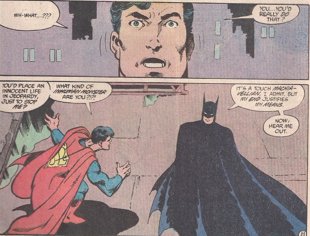Superman's starting to realize who he's dealing with.