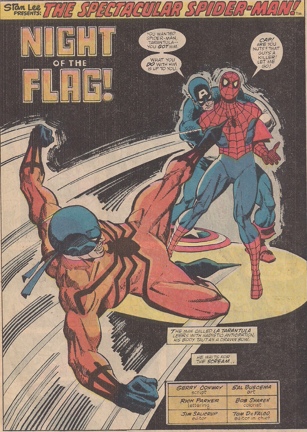 We've hit full wrestling territory this issue, foreign heel with a spiked shoe and a heel turn from Captain America!