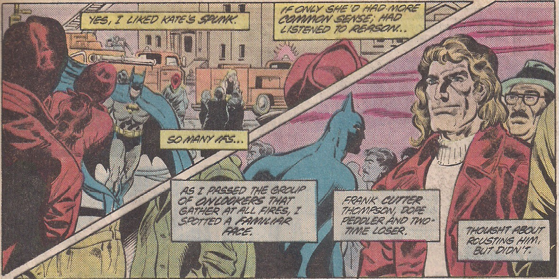 Shoulda rousted him Batman.