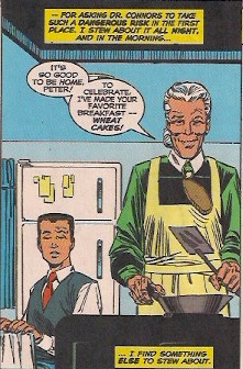 Aunt May loves her Wheat cakes.