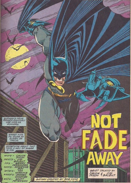 Nothing lets us know it's the nineties like Batman with claws!