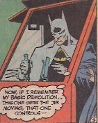 Bet you didn't know Batman could use a crane!