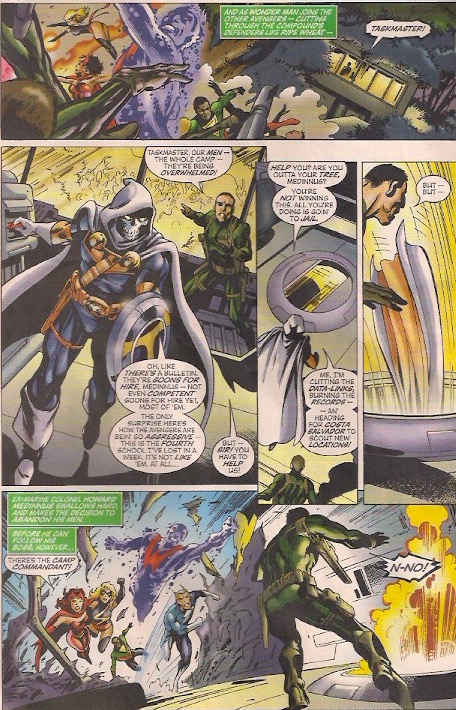 """""""Taskmaster, out."""""""