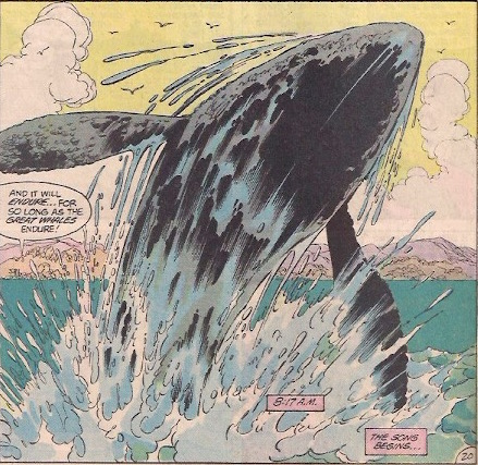 ...And the whales sing her song, forever.