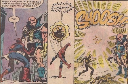 Team-ups in the 80s always leave Spider-Man exasperated.