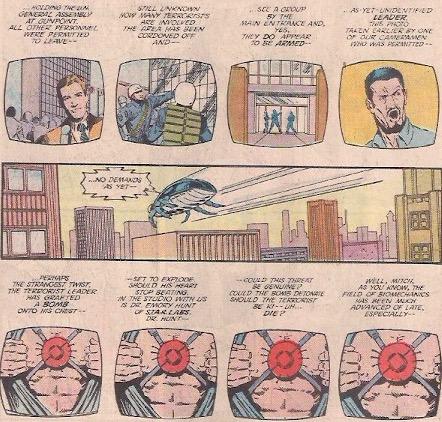 I love 80s comics with TV news montage.