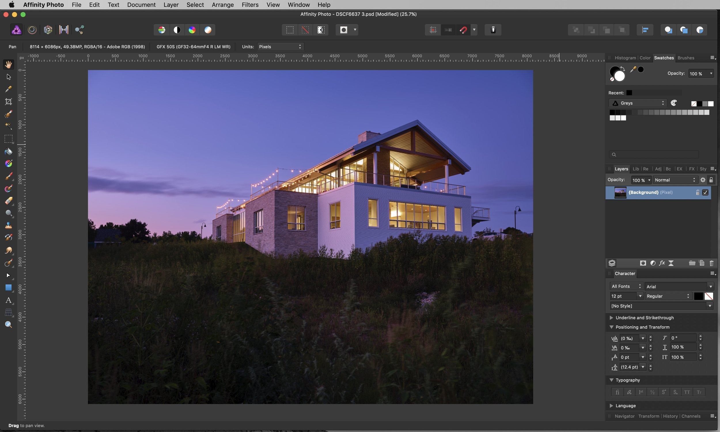 If you've never played with Affinity Photo, you will see that it is very similar to Photoshop. I found it was very easy to begin working in Affinity Photo and would highly recommend you download a trial [ link here ] and get your hands on it. I'm sure you'll find that you really enjoy it too.