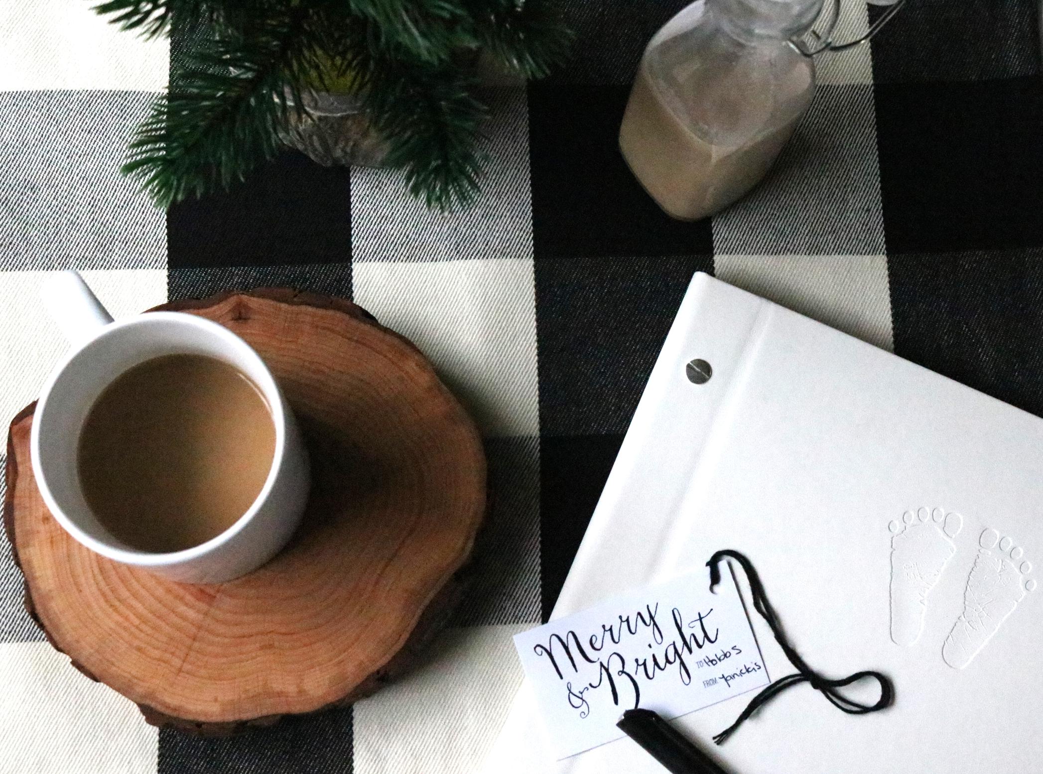 coffee with homemade Baileys