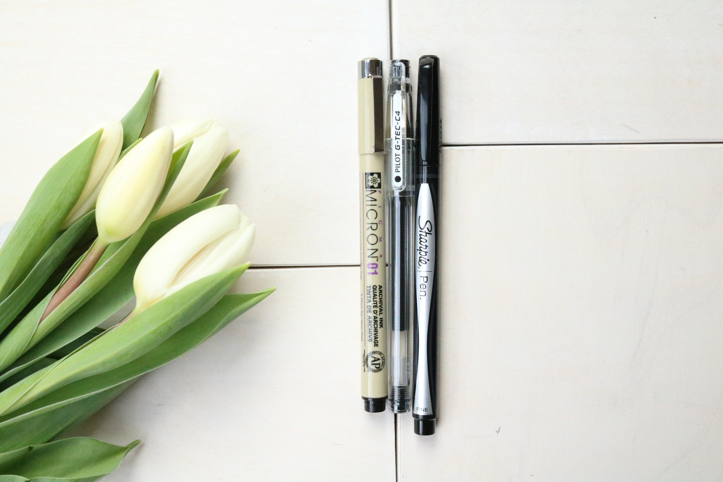 top three pens to use in your mushybook