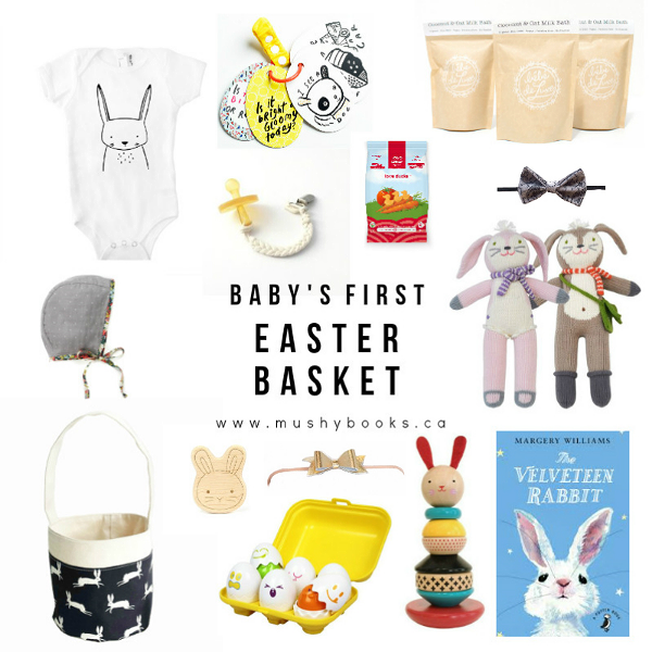 Baby's First Easter Basket by Mushybooks - we've found some sweet ideas for your little ones first Easter!