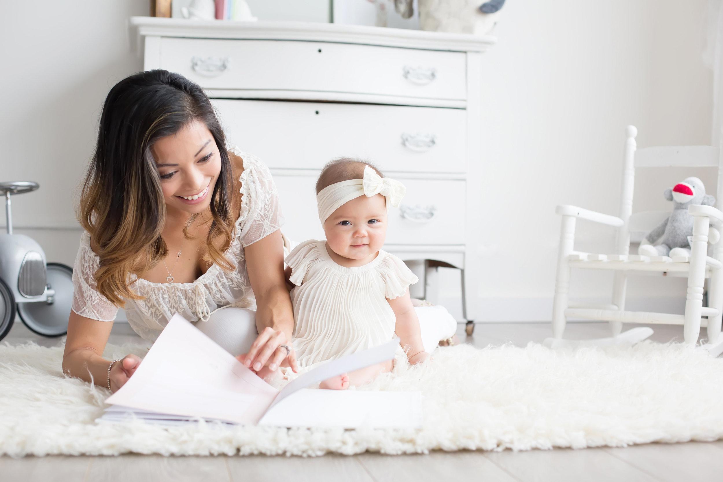 Mushybooks Modern Baby Books - it's never to late to start