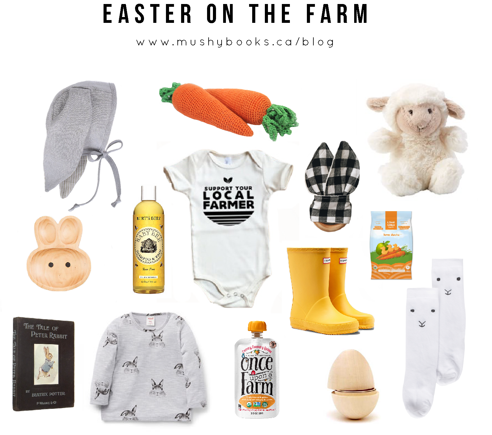 Easter on the Farm - Baby's First Easter