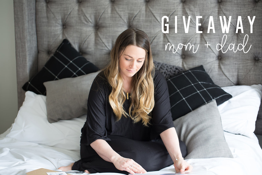 Mom+Dad baby book giveaway