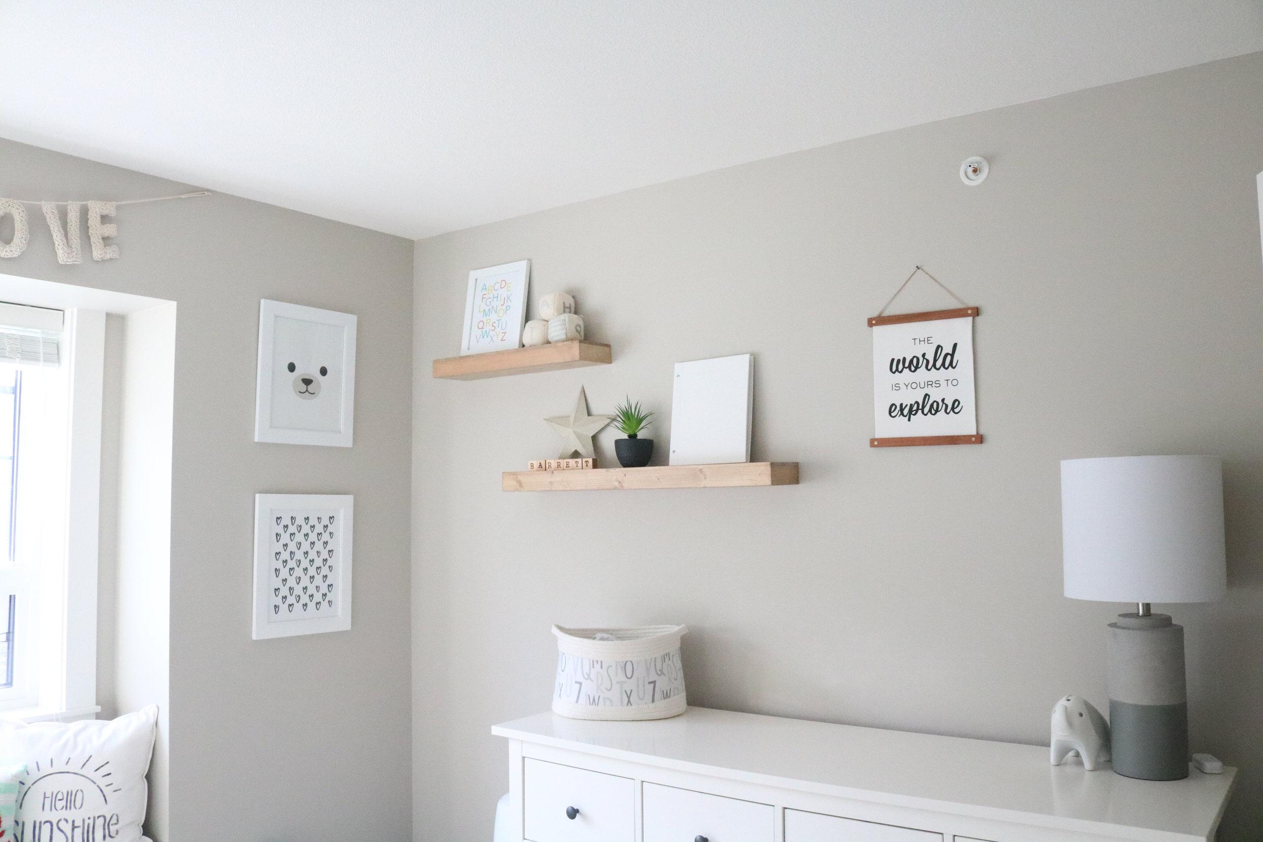 Calm Nursery Design