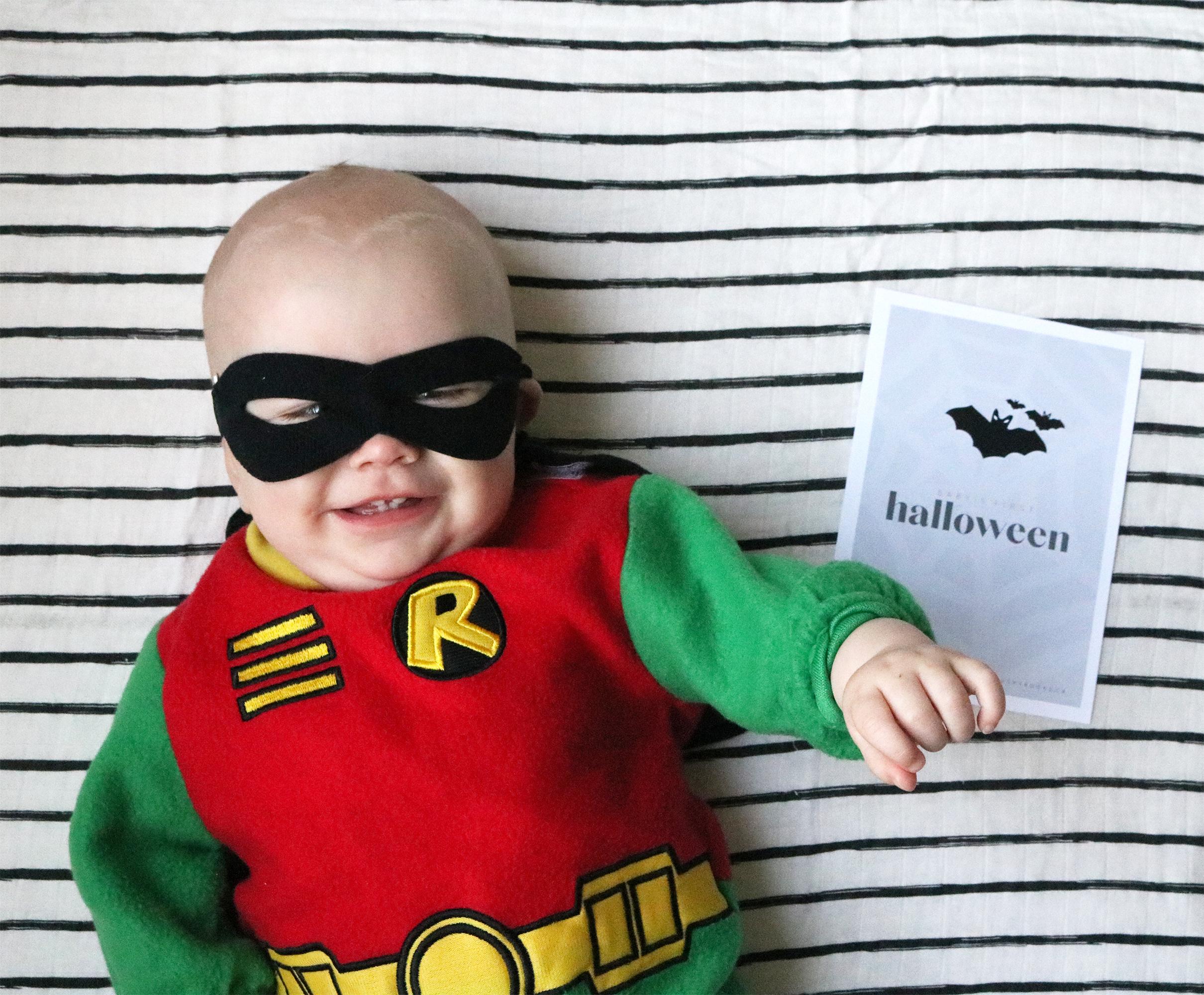 Baby's 1st Halloween Free Printable