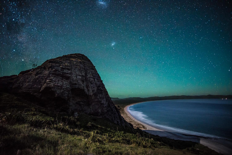 above:  Kapowairua — Spirits Bay  450nm  (2013)
