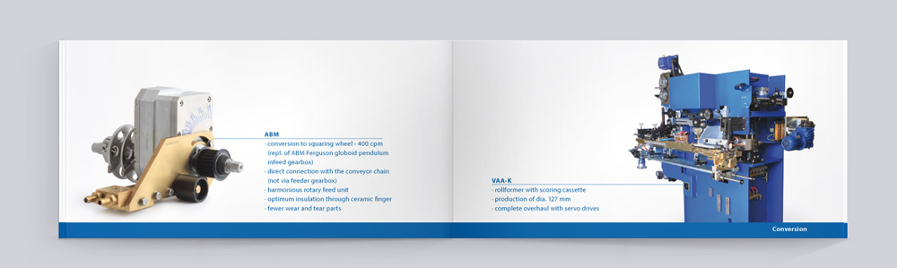 Imagebroschüre Sondermaschinenbau