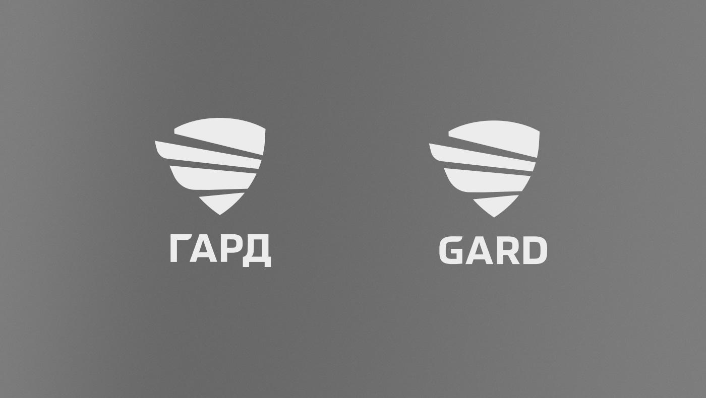 Альтернативная композиция знака и логотипа