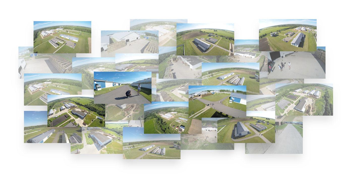 Фотографии с квадрокоптера