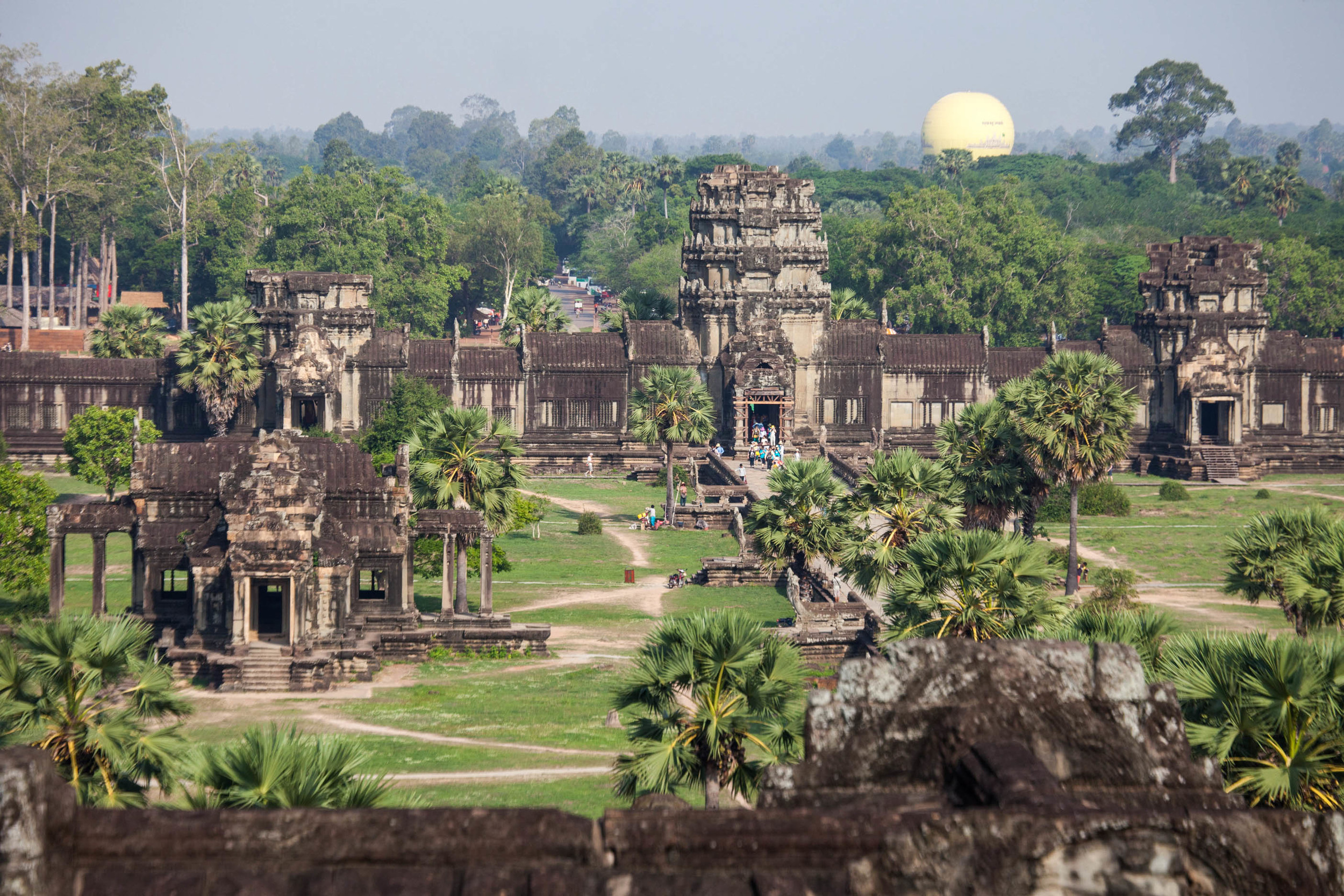 A view from the Angor Wat