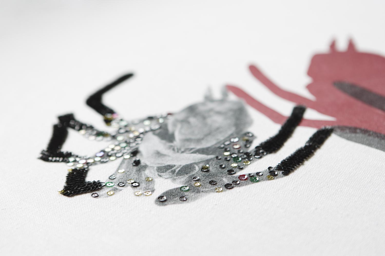 'Spider Skin' (2009) Detail.