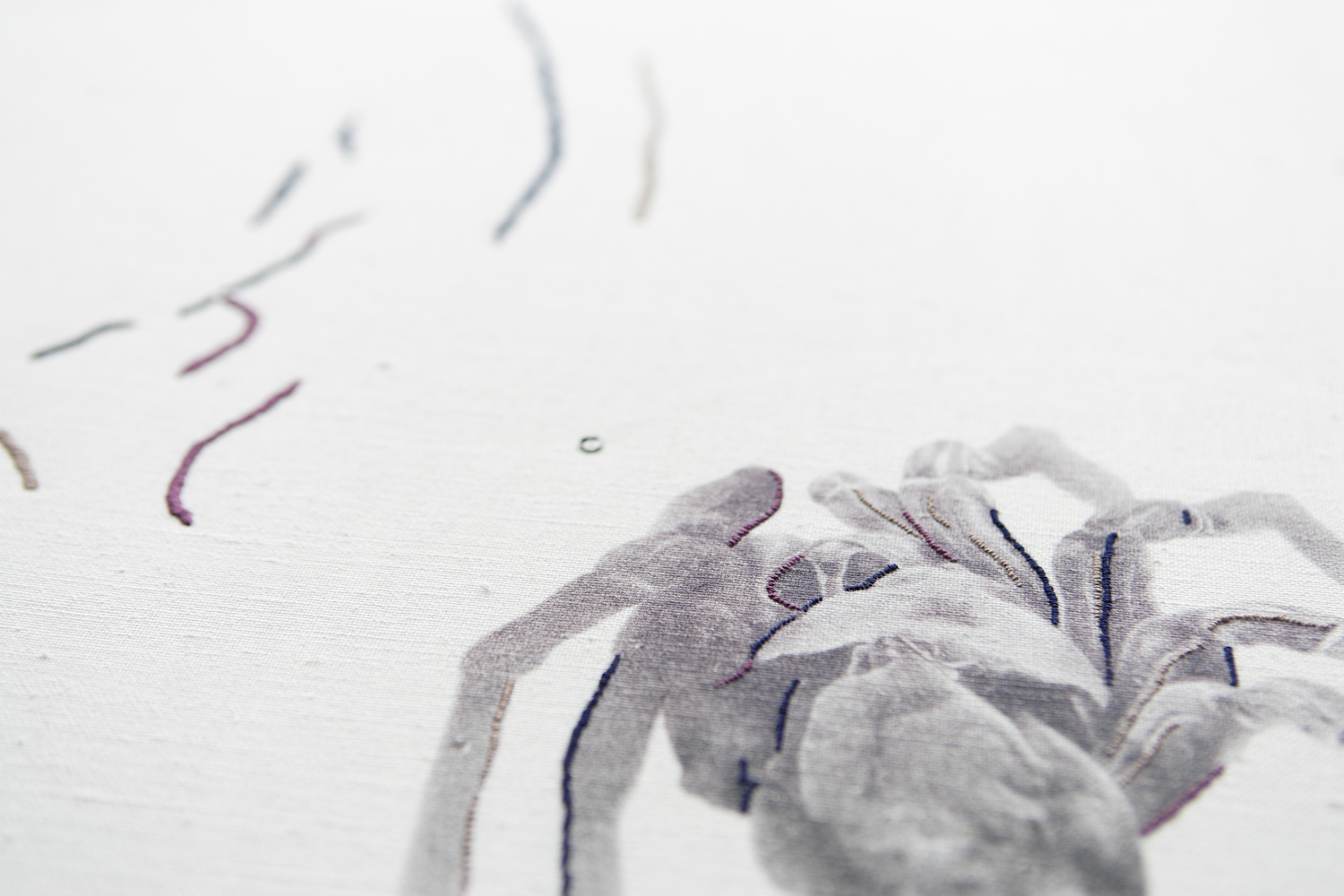 'Lines and Dots' (2009) Detail.
