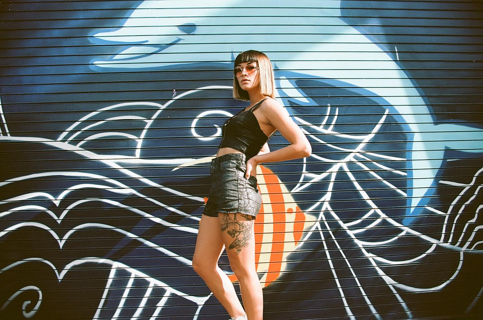 Model -Britni Sumida