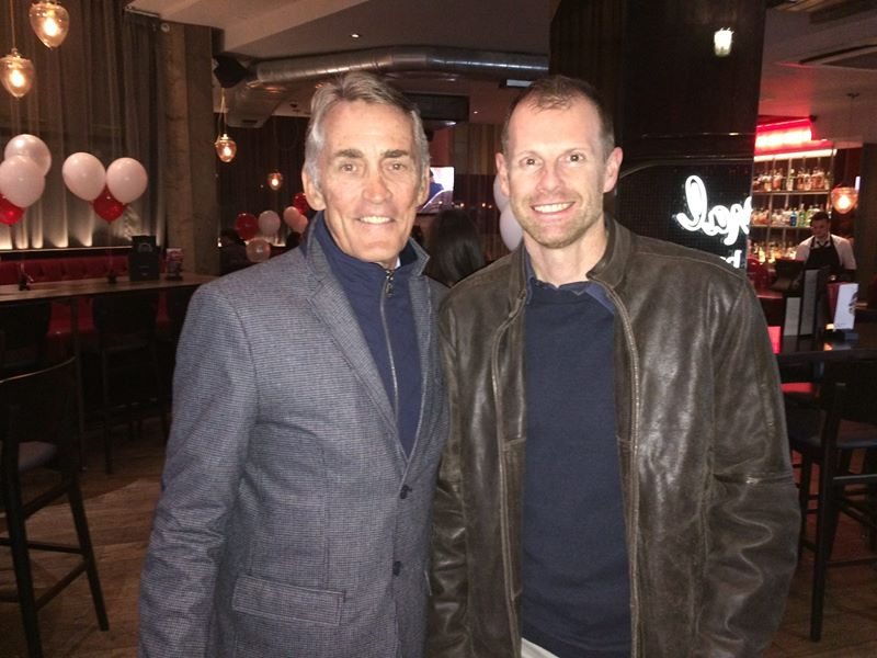 Joe Friel and Rob Wilby in Manchester, November 2016