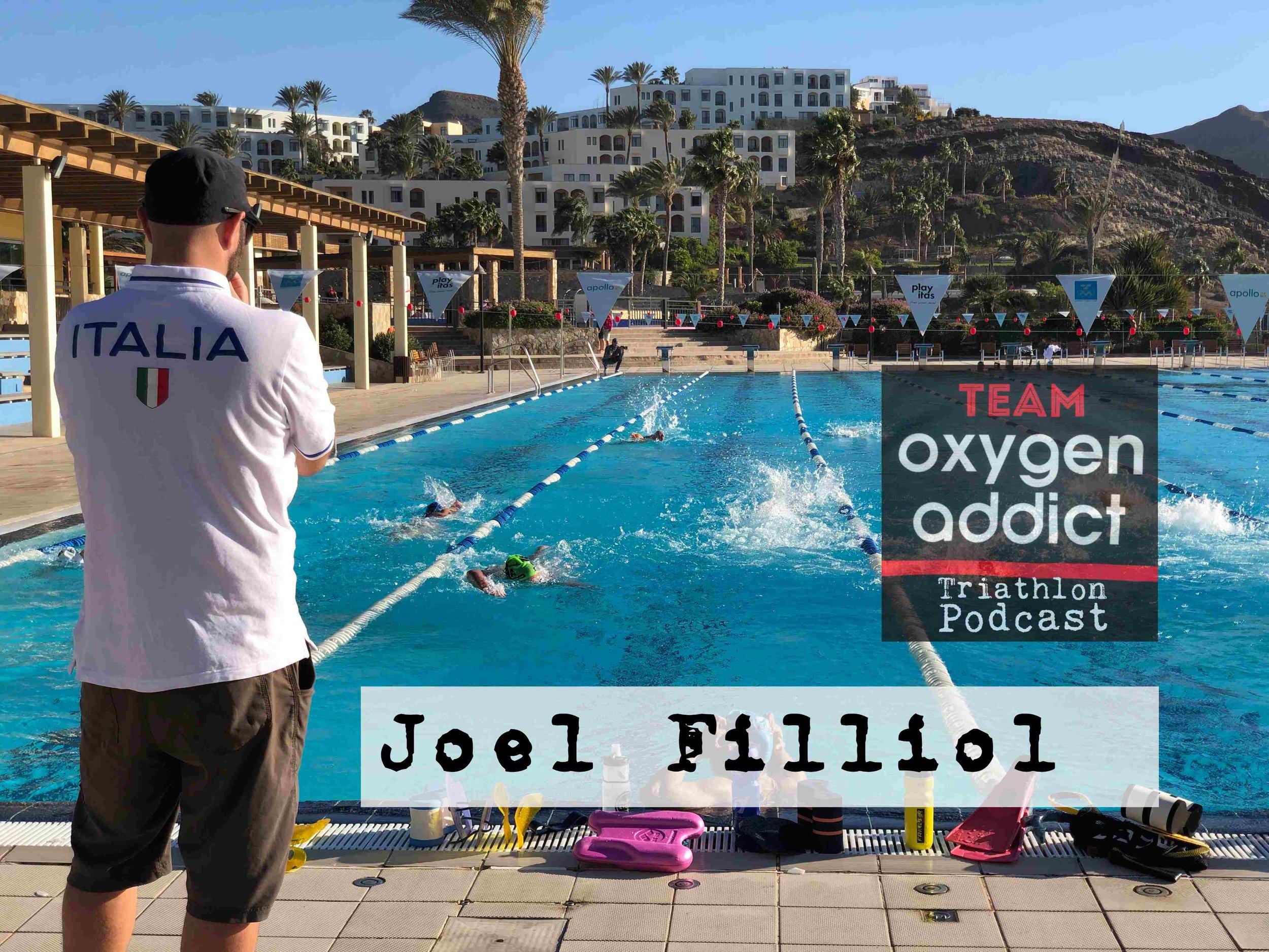 216 Joel Filliol - Triathlon coach, and IFC Olympic