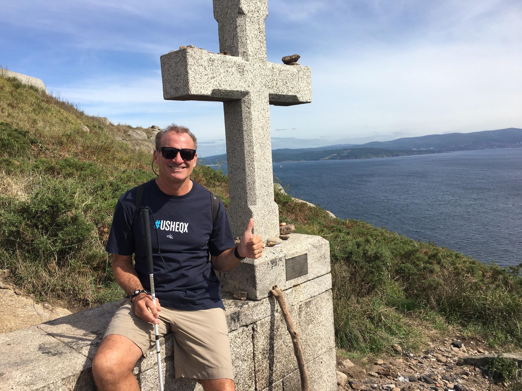 Finestarre cross on the point