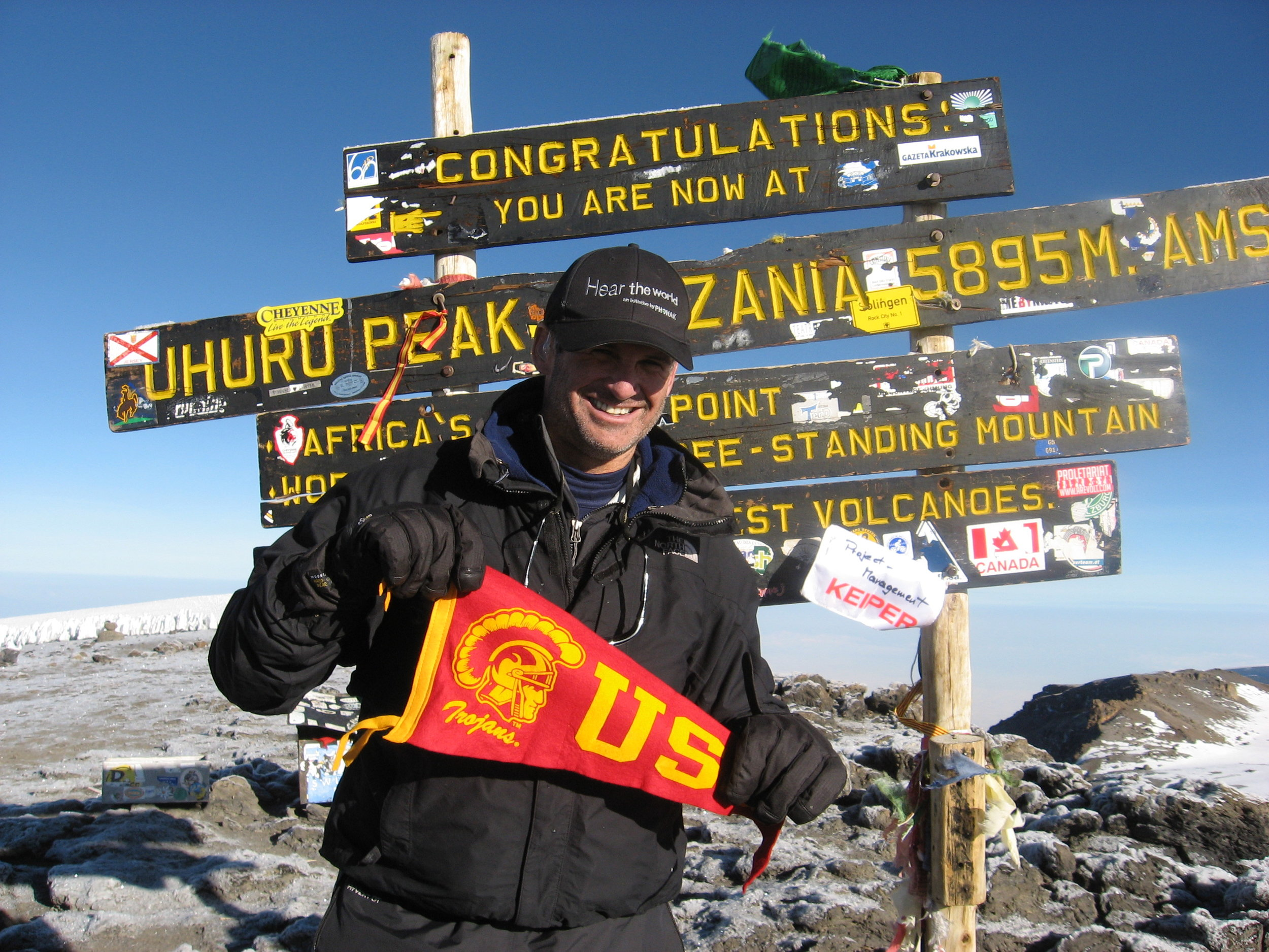 deaf-blind adventurer, advocate and inspiring storyteller - MOUNT KILIMANJARO SUMMIT 19, 400 FEET