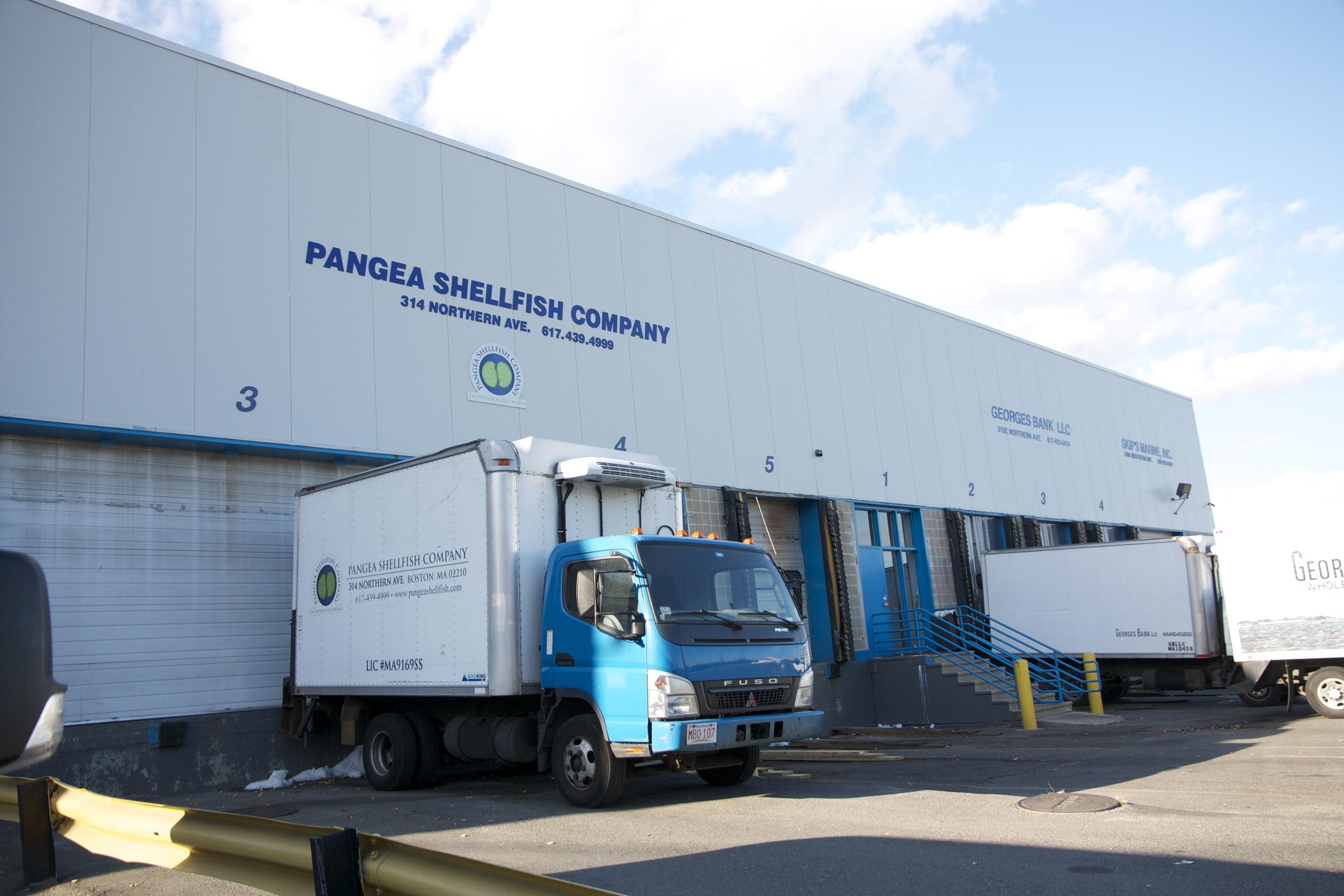 Pangea Shellfish Facility Location