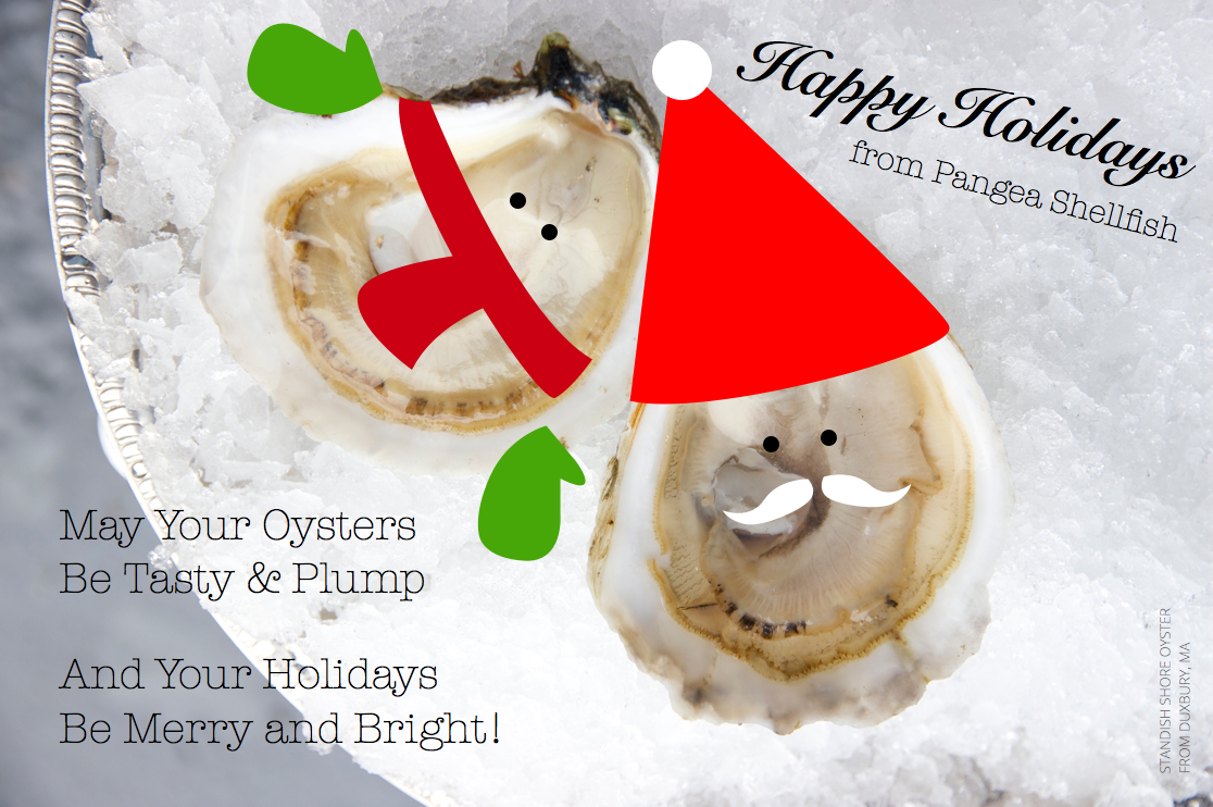 Pangea Shellfish Holiday E-Card